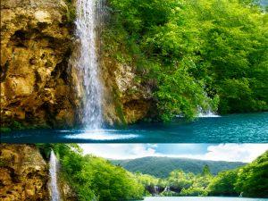 Waterfall - 8750x2268
